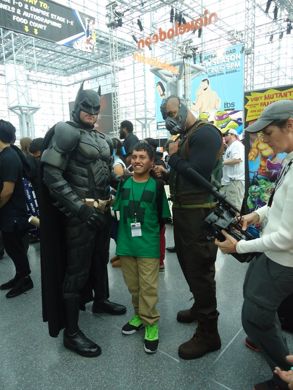 This year, more than 150,000 people attended New York Comic Con, an annual four-day pop culture expo designed to celebrate ...