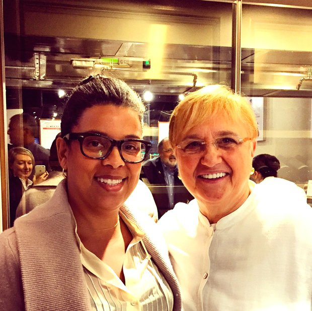 with Lidia Bastianich