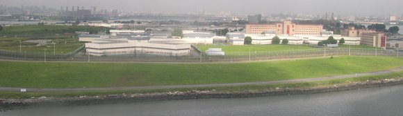 Mayor Bill de Blasio, joined by City Council Speaker Melissa Mark-Viverito, announces his plans to close Rikers Island as a ...