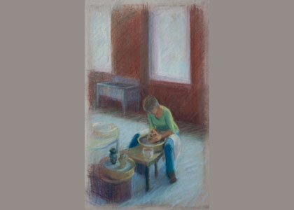 Maryland Hall will open three exhibitions on November 3, 2014— Clay Artists from the Shore, in the Chaney Gallery; Drawing ...