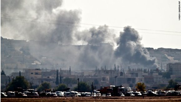 Most of those killed were ISIS militants and Syrian Kurdish fighters, battling for control of Kobani, according to the Syrian ...