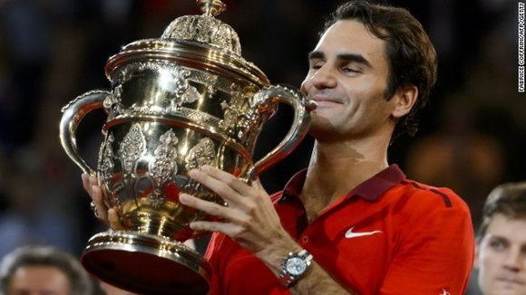 Sunday saw the 33-year-old Swiss maestro cut the gap still further on Novak Djokovic by winning his hometown tournament in ...