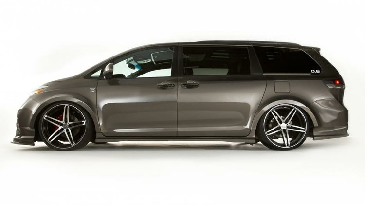 The Stretched Limo Minivan Swagger Wagon Was Star Of Toyotas 2010 Stand At SEMA
