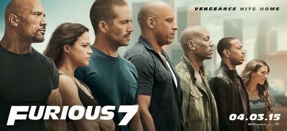 """Furious 7"" hits theaters April 3, months after controversy was stirred about the lack of diversity at the Oscars. There ..."
