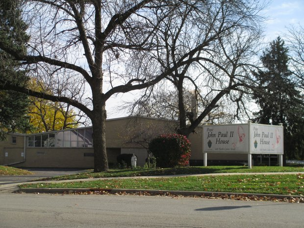 The John Paul II building at 430 Center St. in Joliet is being considered by the Diocese of Joliet as possible re-entry house for convicts finishing their prison terms.