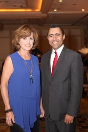 Mary Murphy, an Emmy Award-winning investigative reporter with WPIX, and Milton Nunez, executive director of Lincoln Medical Center.