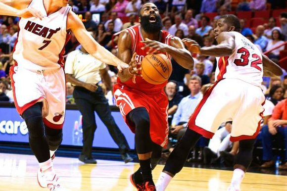The Houston Rockets survived a late-game surge from the Miami Heat, earning a well-deserved 108-91 win to stay unbeaten at ...