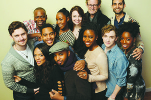 The Cast of 'Dear White People'