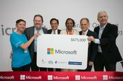 Microsoft granted $675,000 to local community organizations: Technology for All, Space Center Houston, Houston Technology Center & Communities in Schools Bay Area.