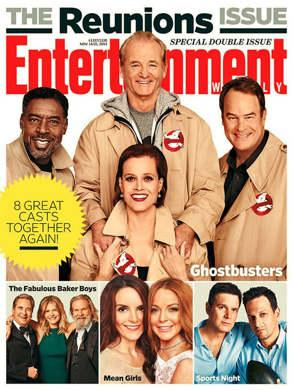The Ghostbusters cast have reunited for a preposterously delightful image that will instantly warm the heart of anyone who has ...