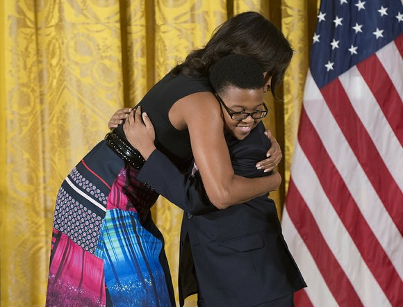 First Lady Michelle Obama presented Project STEP (Strings Training and Education Program) with the prestigious National Arts and Humanities Youth ...