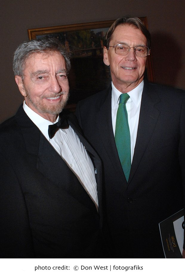 ABCD President/CEO John J. Drew with Don Law, President, Live Nation - New England, who received an award from ABCD.  Don West Photo