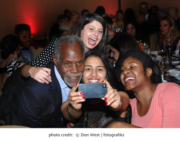 Selfie with Danny Glover
