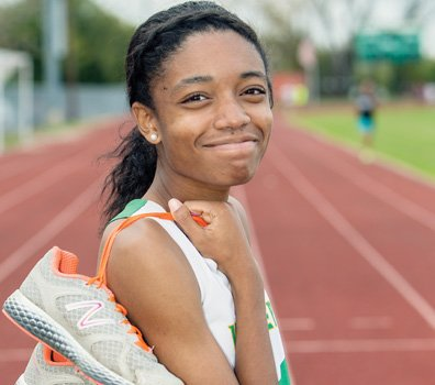 In cross-country romps over hill and dale, the 15-year-old Maggie L. Walker Governor's School sophomore, Khloe Pointer, combines a tireless ...