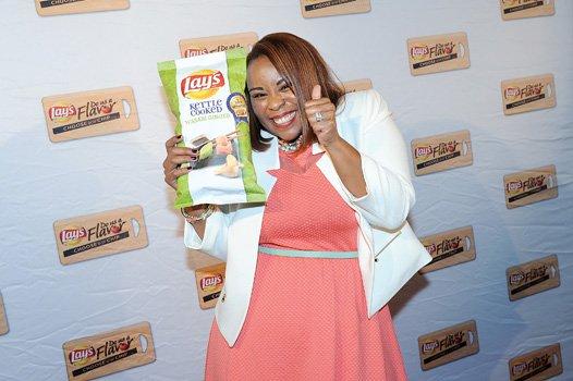 Meneko Spigner McBeth's award-winning Lay's Kettle Cooked Wasabi Ginger potato chips soon will line the aisles.
