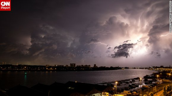 """""""With warming, thunderstorms become more explosive,"""" says University of California Berkeley climate scientist David Romps."""