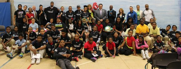 On Tuesday November 11, 2014, Fight For Children and the World Boxing Council (WBC) brought champion boxers to visit the ...