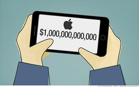 Apple has a $260 billion market value lead over key rival Microsoft and is worth $300 billion more than Google, ...