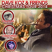Dave Koz and Friends Christmas Tour celebrates its 17th anniversary in a return visit to the Cerritos Center for the ...