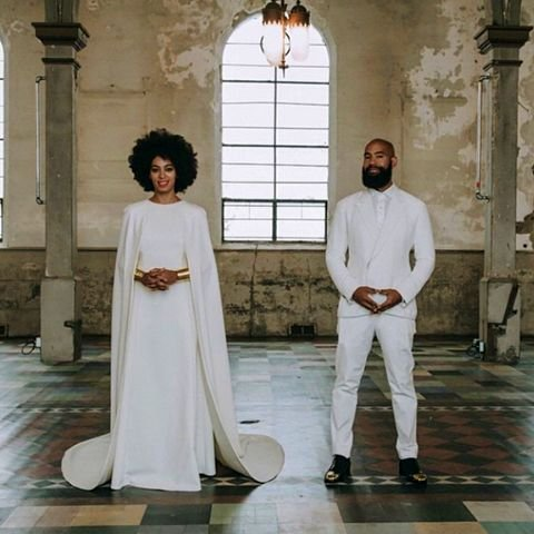 Solange Knowles is a married woman. Beyonce's little sister wed music video director Alan Ferguson on Sunday in New Orleans.