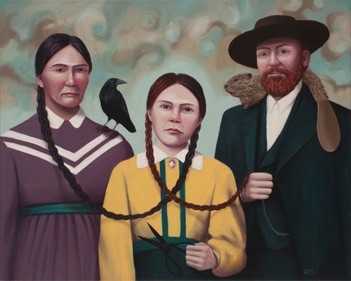 Portland artist Anna Magruder loves painting people from the past and her new series of historic surrealist paintings portray some ...