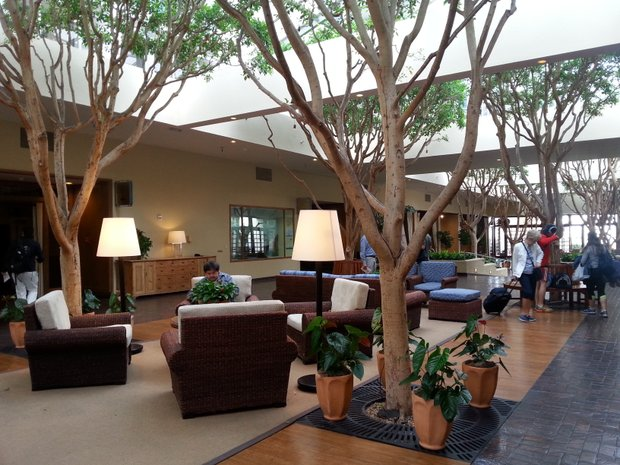 The Portola Plaza Hotel and Spa at Monterey Bay is a beautiful full-service resort encompassing 379 spacious, nautical-themed guest rooms and suites.