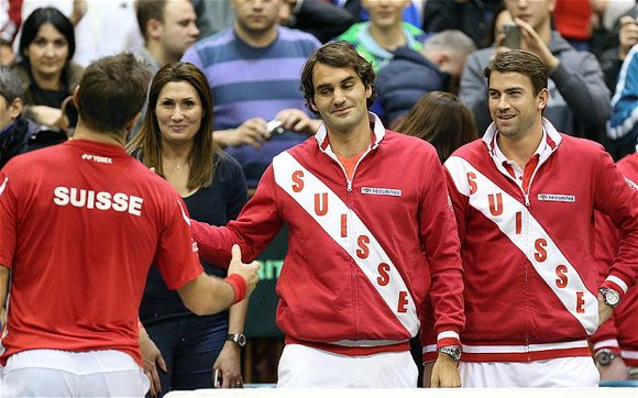 A Davis Cup final already steeped in intrigue soared to another level Saturday and now the question is: Can Roger ...