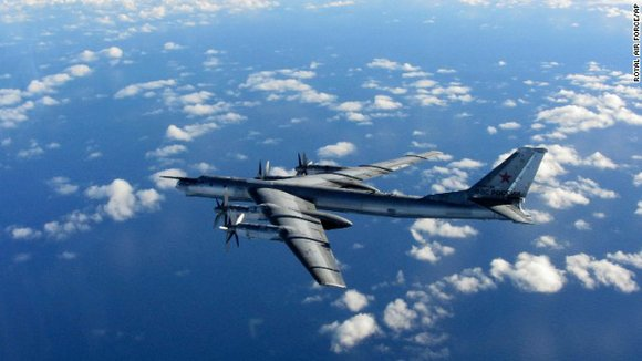 Stoltenberg said few of the Russian flights had actually violated the airspace of NATO nations, but he said the way ...