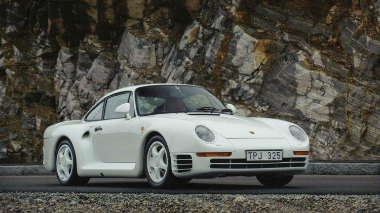 One Owner Porsche 959 Komfort Heads To Auction Houston Style