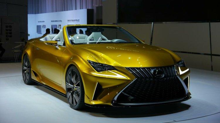Lexus LF-C2 concept hints at future droptop at Los Angeles Auto Show ...