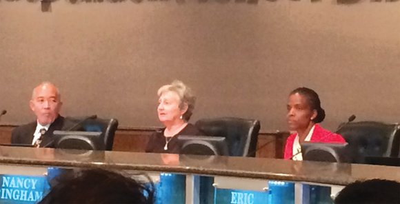 The continued concern over the removal of Dallas ISD Trustee Bernadette Nutall from Dade Middle School by police at the ...