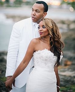 The former Elka Battle was married to Daniel Murillo in a picturesque ceremony during Labor Day Weekend.
