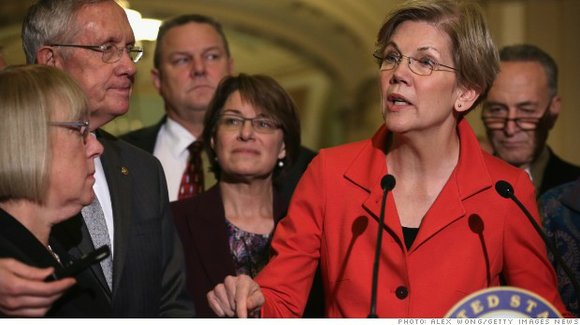 Warren took the unusual step of bashing a nominee from her party when she came out last month against Weiss, ...