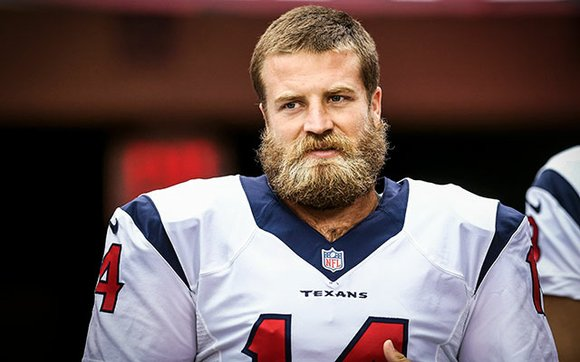 The NFL named Texans quarterback Ryan Fitzpatrick the AFC Offensive Player of the Week following his career-best and franchise-record six ...