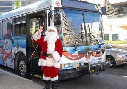 MTA celebrates the holiday season with annual holiday bus and ...