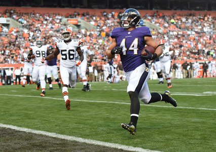In this day and age, the fullback position has become less and less popular. Fortunately for Baltimore Ravens fullback Kyle ...