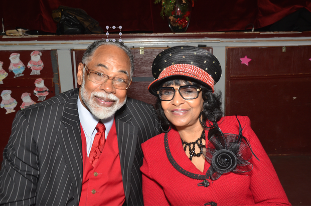 Dr. Gray and first lady Mary Gray.