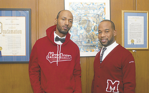 Morehouse College alum, fashion designer and businessman Anthony Moultry said he wants to be the next Ralph Lauren when it ...