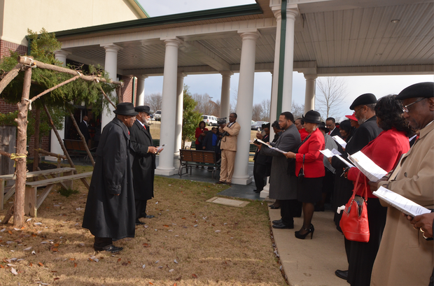 """The celebration took place on Dec. 7. The theme: """"Remembering, Rejoicing, and Renewing."""""""