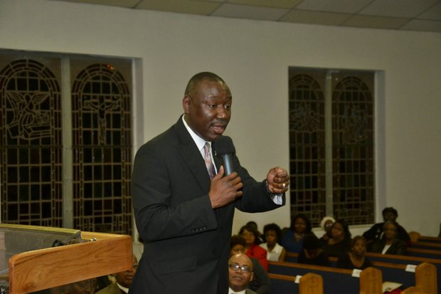 During a February visit to Temple Church of God in Christ, Attorney Benjamin Crump issued a call to action for communities to band together and stand for African-American girls and boys in Memphis. He said Memphis plays a monumental role in the political agenda for protecting African-American children. (Photo: Tyrone P. Easley)