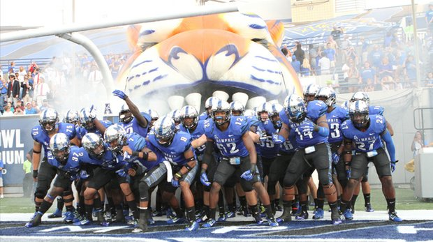 Sporting a 7-3 overall record and 5-1 mark in the American Athletic Conference, the University of Memphis Tigers football team has been rumble-ready throughout this now bowl-eligible season. (Photo: Warren Roseborough)