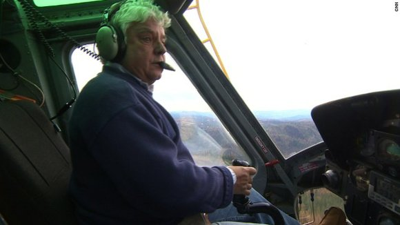 On September 15 helicopter pilot Gary Dahlen was on a refueling stop near an enormous wildfire in California's Sierra Nevada ...