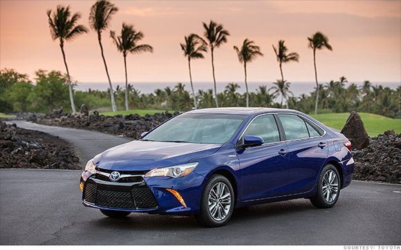 Toyota's Camry Hybrid was rated the best value overall. Consumer Reports rated it a 2.01 on its scale, meaning it ...