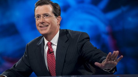"Not only is Colbert moving to CBS to take over David Letterman's seat, but the network will also own ""The ..."