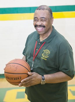 "Huguenot High School Falcons coach Leroy ""Bo"" Jones."
