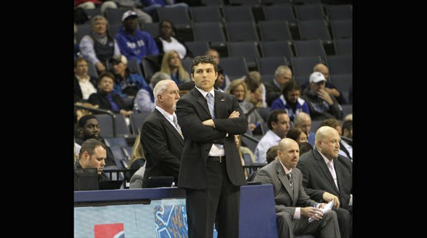 Coach Josh Pastner saw his Tigers get outplayed by Stephen F. Austin. (Photo: Warren Roseborough)