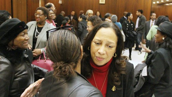 Embattled Judge Birdie Hairston Jamison defended her record on the Richmond General District Court and urged skeptical legislators to re-elect ...
