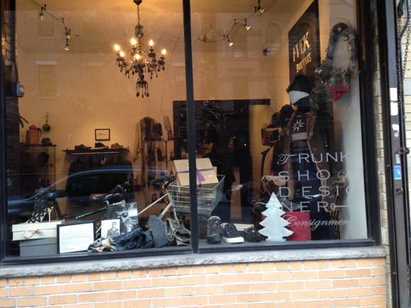 While shopping for that special gift, make an appointment to visit Trunk Show Designer Consignment, a boutique at 275-277 W. ...