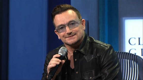 Here is a look at the life of Bono, Grammy award-winning singer and songwriter of the band U2.