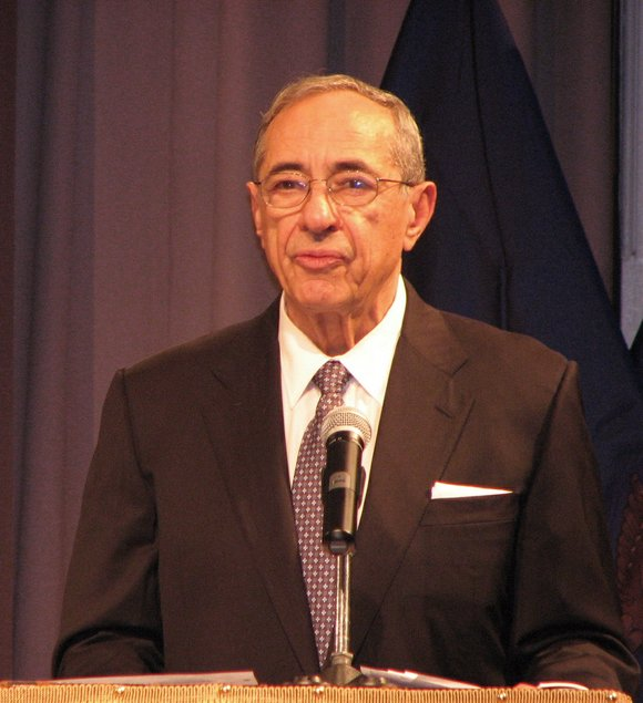 Former New York State governor and Democratic Party champion Mario Cuomo is laid to rest in Manhattan.